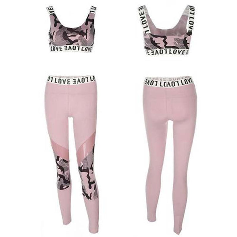 Yoga Set Gym Sport Suit