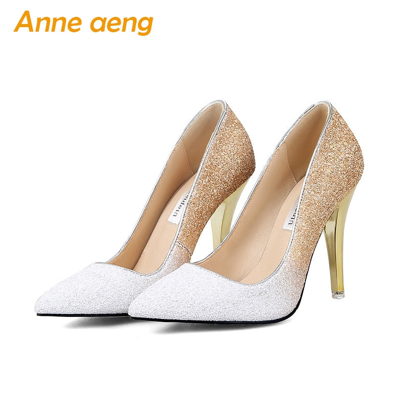 thin Bridal Classic High Heels