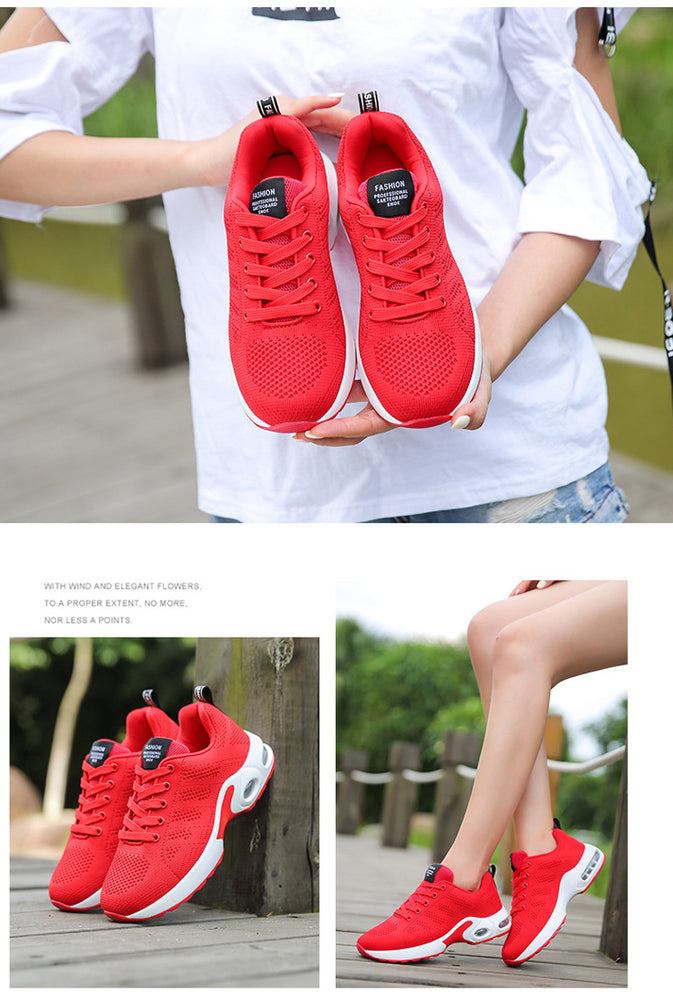 Casual Height Increasing Platform Breathable Sneakers