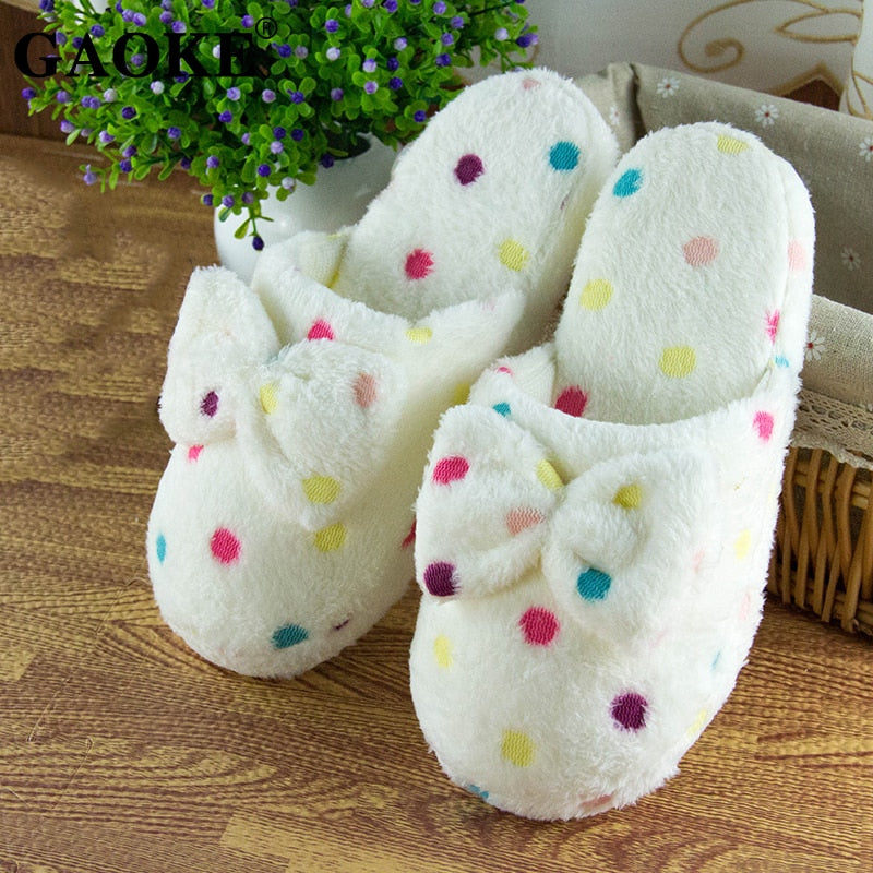 Footwear Plush Indoor Warm Winter Slipper