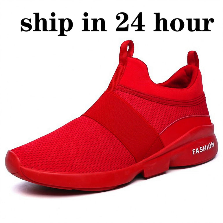 Casual Light Size Flyweather Comfortable Breathable sneakers