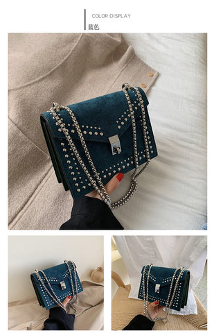 Leather Crossbody Travel Vintage Handbag