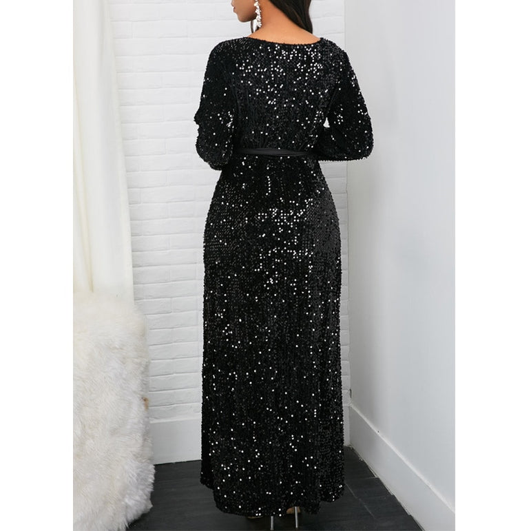 Elegant canonicals Long Sleeve party Dress