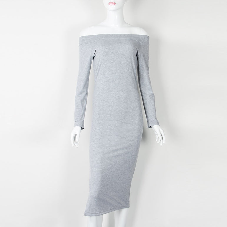Elegant Midi Jumper Club Party Dress