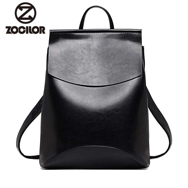 High Quality Leather Shoulder Backpacks