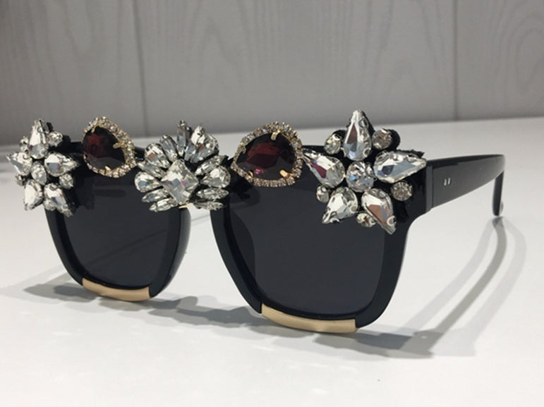 Crystal Luxury Rhinestone Sunglasses