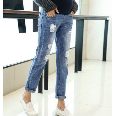 Nursing Trousers Denim Clothing Jeans Pants For Pregnant