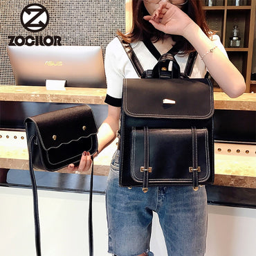 High Quality Leather Shoulder Bag Backpack