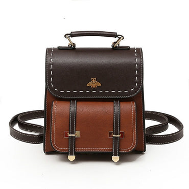 Leather High Quality Classic Vintage Backpacks