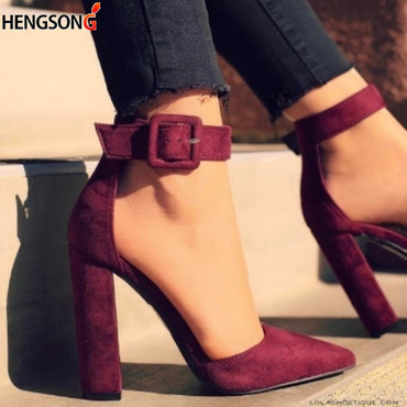 Ankle Strap Pump High Heels