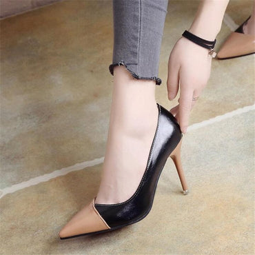 leather Wedding Party High heels