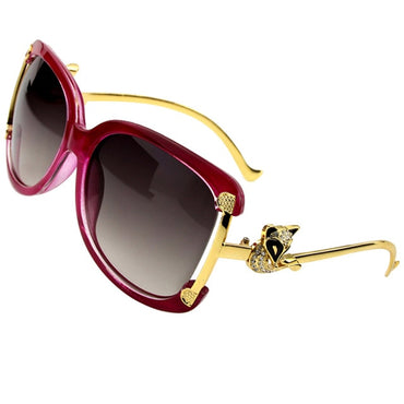 Luxury Alloy Frame Sunglasses