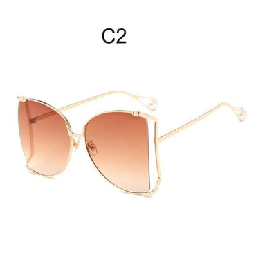 Cat Eye Big Square Sunglasses