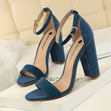 Open Toe Sandals Stiletto High Heels