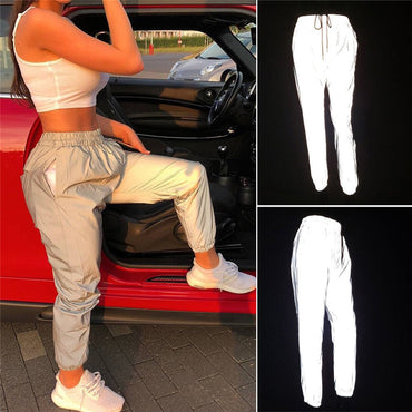 Hip Hop Reflective Dance Pants