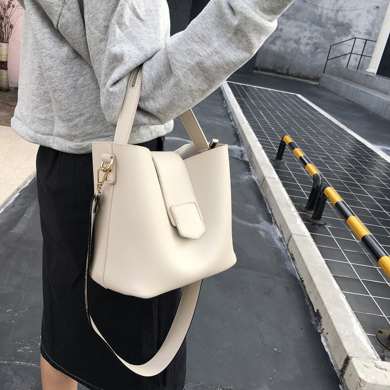 Leather Shoulder Tote Women Handbags