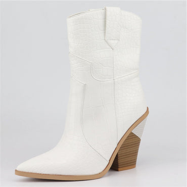 Winter pointed toe Ankle Boots
