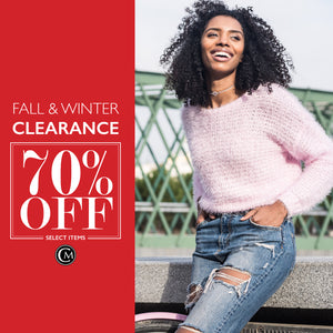 70% of Marked Winter Clearance