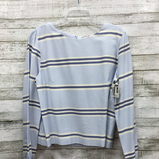 Primary Photo - BRAND: CREMIEUX STYLE: TOP LONG SLEEVE COLOR: BLUE SIZE: L OTHER INFO: NEW! SKU: 127-4931-358NEW WITH TAGS. SMALL TEAR ON LEFT SLEEVE (SEE PHOTO).