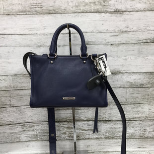 Primary Photo - BRAND: REBECCA MINKOFF STYLE: CROSSBODY COLOR: BLUE SIZE: SMALL SKU: 127-3371-47881IN VERY GOOD CONDITION WITH SOME MINOR WEAR OUTSIDE.