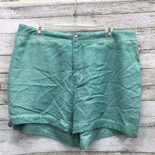 Primary Photo - BRAND: JUNAROSE STYLE: SHORTS COLOR: SEAFOAM SIZE: 18 OTHER INFO: JUNA ROSE - SKU: 127-2767-92824DISTRESSED STYLE JUNAROSE SHORTS.
