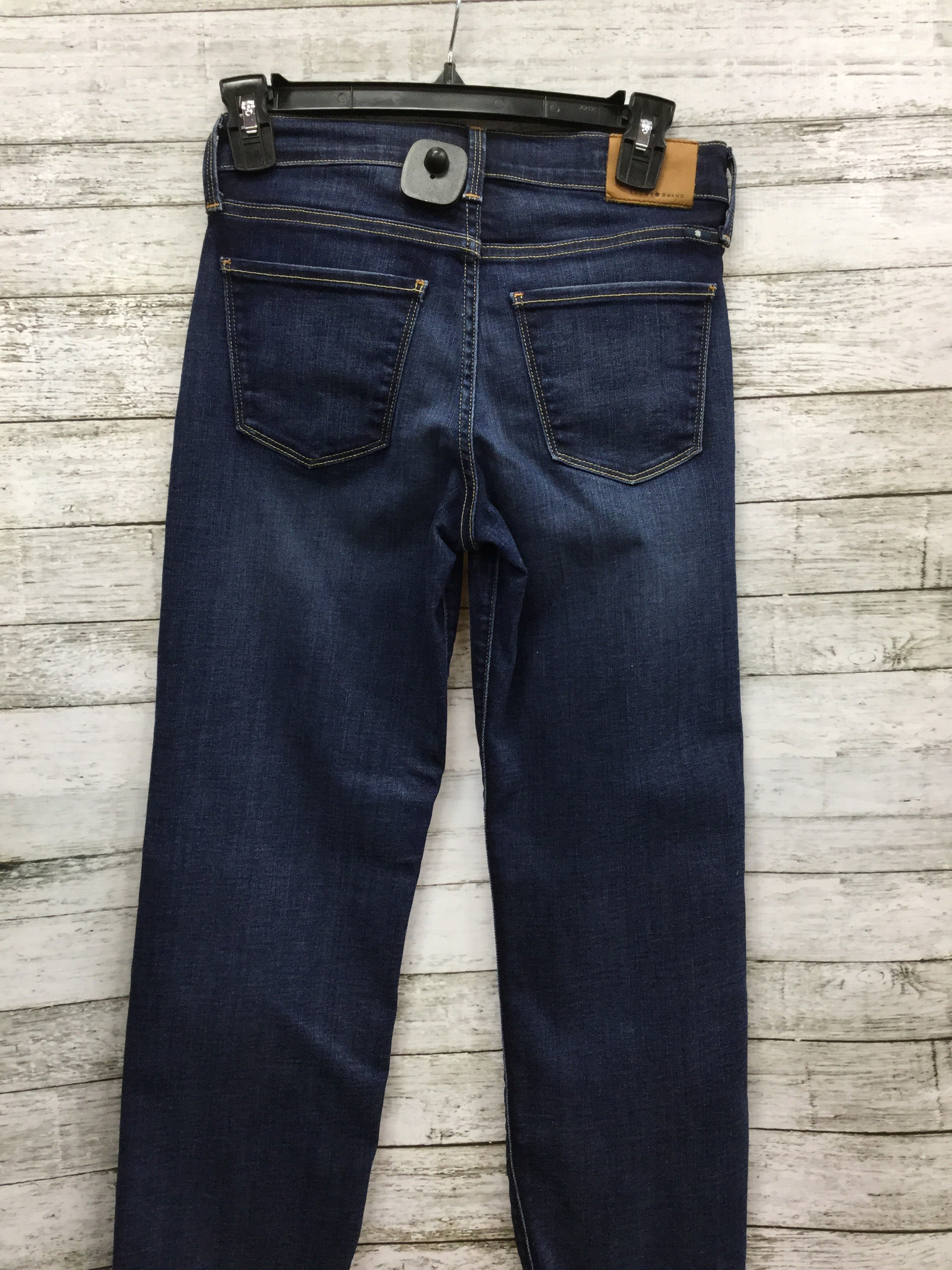 "Photo #4 - BRAND: LUCKY BRAND , STYLE: JEANS , COLOR: DENIM , SIZE: 0 , SKU: 127-4169-24084, , ""BROOKE CROP"" JEANS."