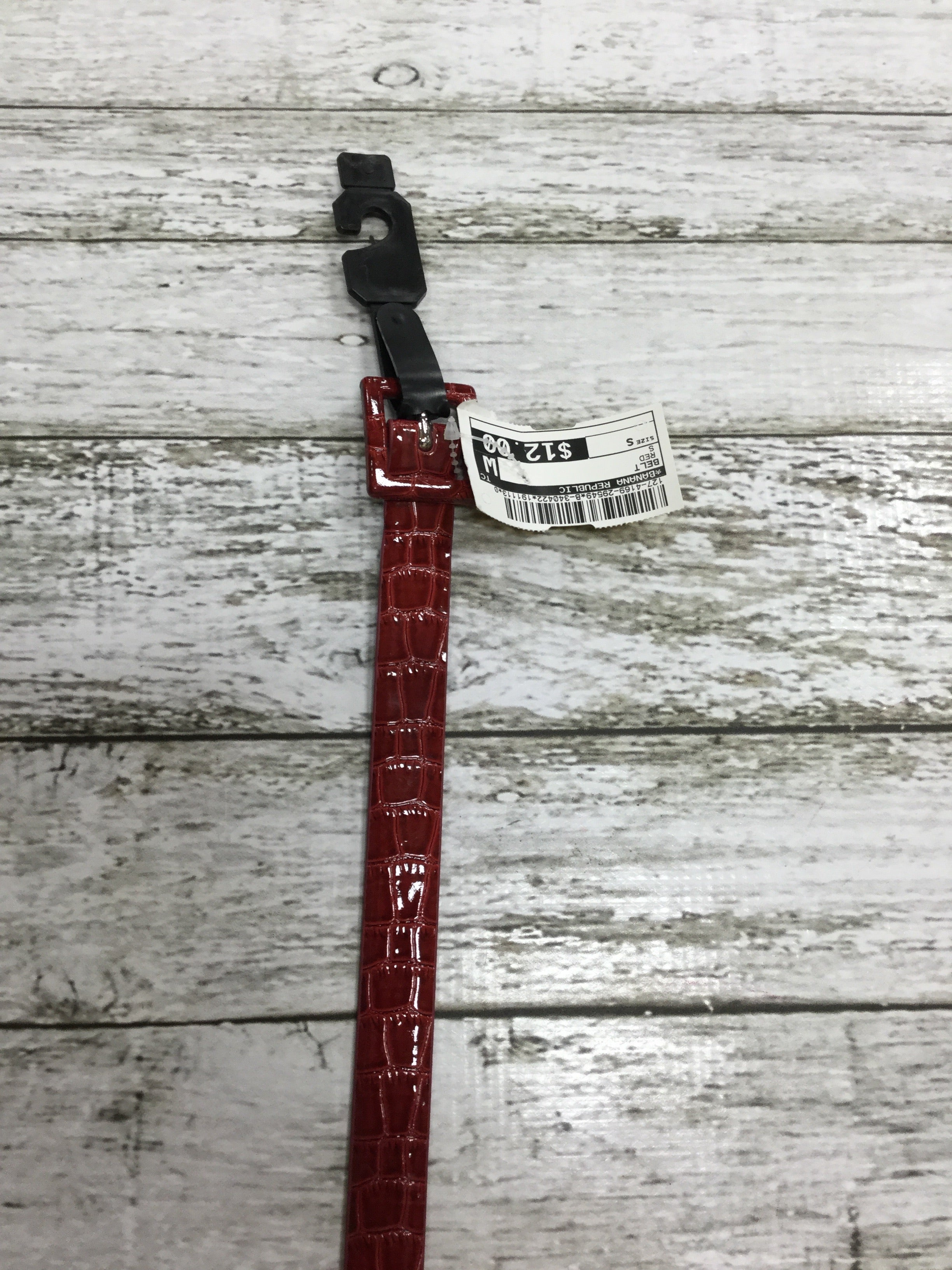 Primary Photo - BRAND: BANANA REPUBLIC , STYLE: BELT , COLOR: RED , SIZE: S , SKU: 127-4169-29549