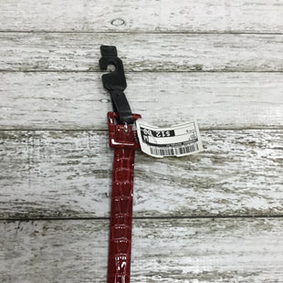 Primary Photo - BRAND: BANANA REPUBLIC STYLE: BELT COLOR: RED SIZE: S SKU: 127-4169-29549