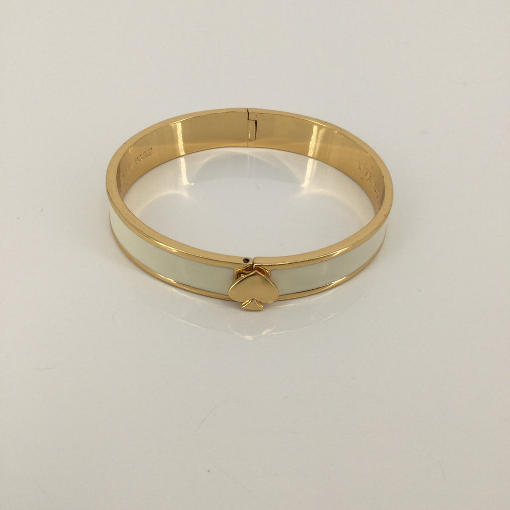 Kate Spade Gold and Cream Bracelet