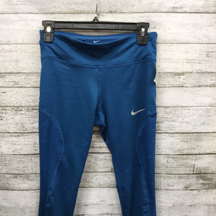 Primary Photo - BRAND: NIKE STYLE: ATHLETIC CAPRIS COLOR: BLUE SIZE: S SKU: 127-3371-44830