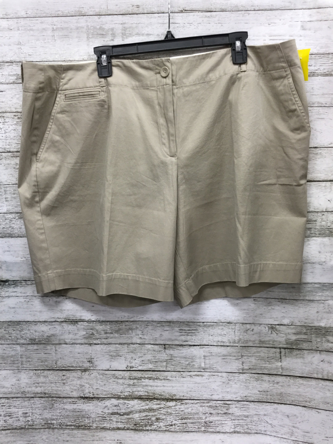 Primary Photo - BRAND: TALBOTS , STYLE: SHORTS , COLOR: BEIGE , SIZE: 22 , OTHER INFO: NEW! , SKU: 127-4954-4361