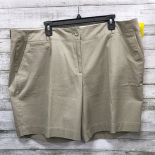 Primary Photo - BRAND: TALBOTS STYLE: SHORTS COLOR: BEIGE SIZE: 22 OTHER INFO: NEW! SKU: 127-4954-4361