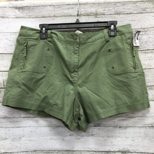 Primary Photo - BRAND:    CMD STYLE: SHORTS COLOR: OLIVE SIZE: 16 SKU: 127-4954-5682OLIVE GREEN SHORTS IN VERY GOOD CONDITION.