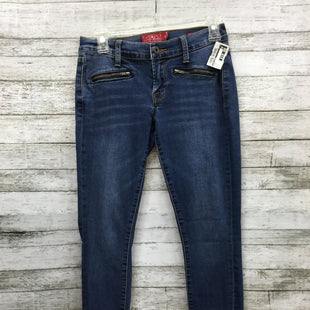 "Primary Photo - BRAND: LUCKY BRAND STYLE: JEANS COLOR: DENIM SIZE: 2 SKU: 127-4169-28460ZIPPER BOTTOM ""CHARLIE SUPER SKINNY"" JEANS BY LUCKY BRAND."