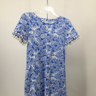 Primary Photo - BRAND: LILLY PULITZER STYLE: DRESS SHORT SHORT SLEEVE COLOR: BLUE WHITE SIZE: XS OTHER INFO: NEW! SKU: 127-4559-16294