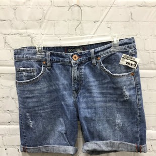 Primary Photo - BRAND:    CMD STYLE: SHORTS COLOR: DENIM SIZE: 6 OTHER INFO: BOOTHEEL TRADING CO. - SKU: 127-4954-5940BOOT HEEL TRADING CO. BY SHERYL CROW JEAN SHORTS WITH BACK POCKET EMBROIDERY!
