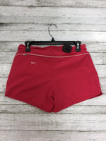 Photo #1 - BRAND: NIKE APPAREL , STYLE: ATHLETIC SHORTS , COLOR: PINK , SIZE: S , SKU: 127-3366-9062