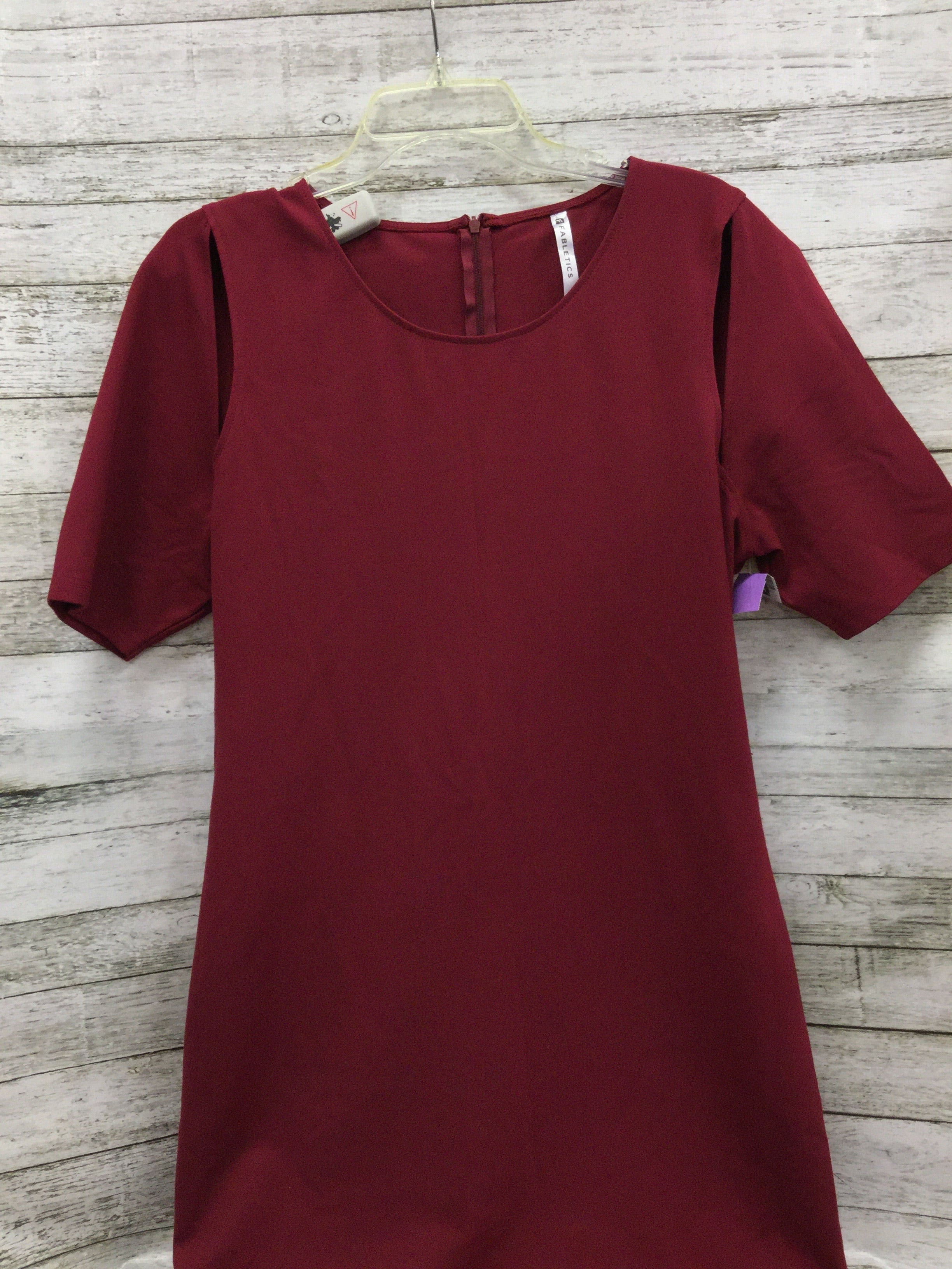 Primary Photo - BRAND: FABLETICS , STYLE: DRESS SHORT SHORT SLEEVE , COLOR: MAROON , SIZE: 1X , OTHER INFO: NEW! , SKU: 127-4559-12428, , NEW WITH TAGS FABLETICS DRESS.