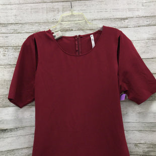 Primary Photo - BRAND: FABLETICS STYLE: DRESS SHORT SHORT SLEEVE COLOR: MAROON SIZE: 1X OTHER INFO: NEW! SKU: 127-4559-12428NEW WITH TAGS FABLETICS DRESS.