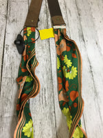 Photo #1 - BRAND:    CMD <BR>STYLE: BELT <BR>COLOR: BROWN <BR>OTHER INFO: PINKGREEN TRIM <BR>SKU: 127-3371-44147
