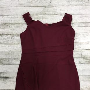 Primary Photo - BRAND:    CMD STYLE: DRESS LONG SLEEVELESS COLOR: MAROON SIZE: XXL OTHER INFO: KNITEE - NEW! SKU: 127-3371-41742
