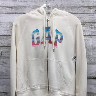 Primary Photo - BRAND: GAP O STYLE: ATHLETIC JACKET COLOR: CREAM SIZE: M SKU: 127-4931-646