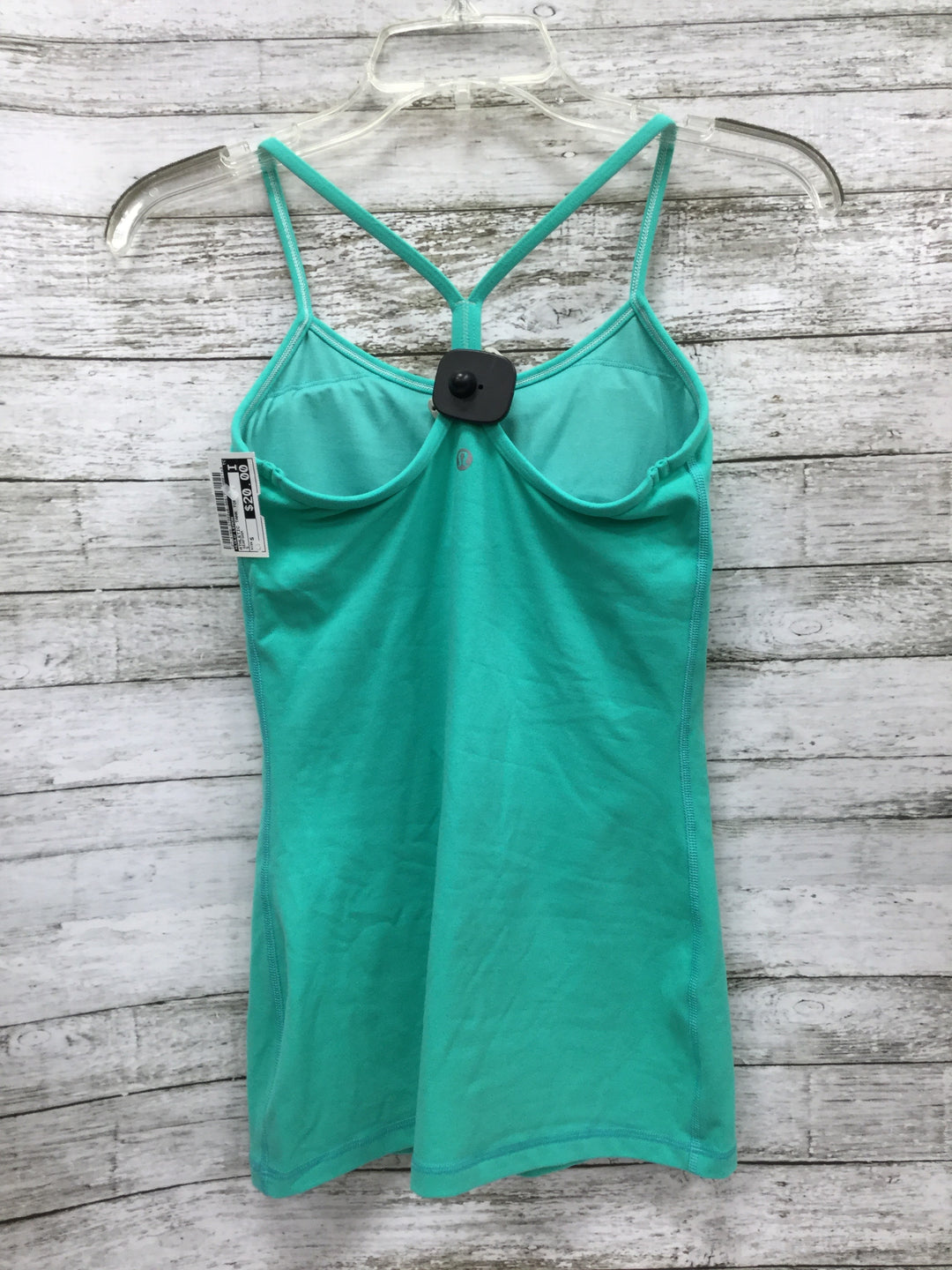 Photo #1 - BRAND: LULULEMON , STYLE: ATHLETIC TANK TOP , COLOR: SEAFOAM , SIZE: S , SKU: 127-4169-37002, , BUILT-IN REMOVABLE PADDING.