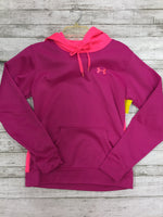 Primary Photo - BRAND: UNDER ARMOUR <BR>STYLE: SWEATSHIRT HOODIE <BR>COLOR: HOT PINK <BR>SIZE: XS <BR>SKU: 127-3371-39828