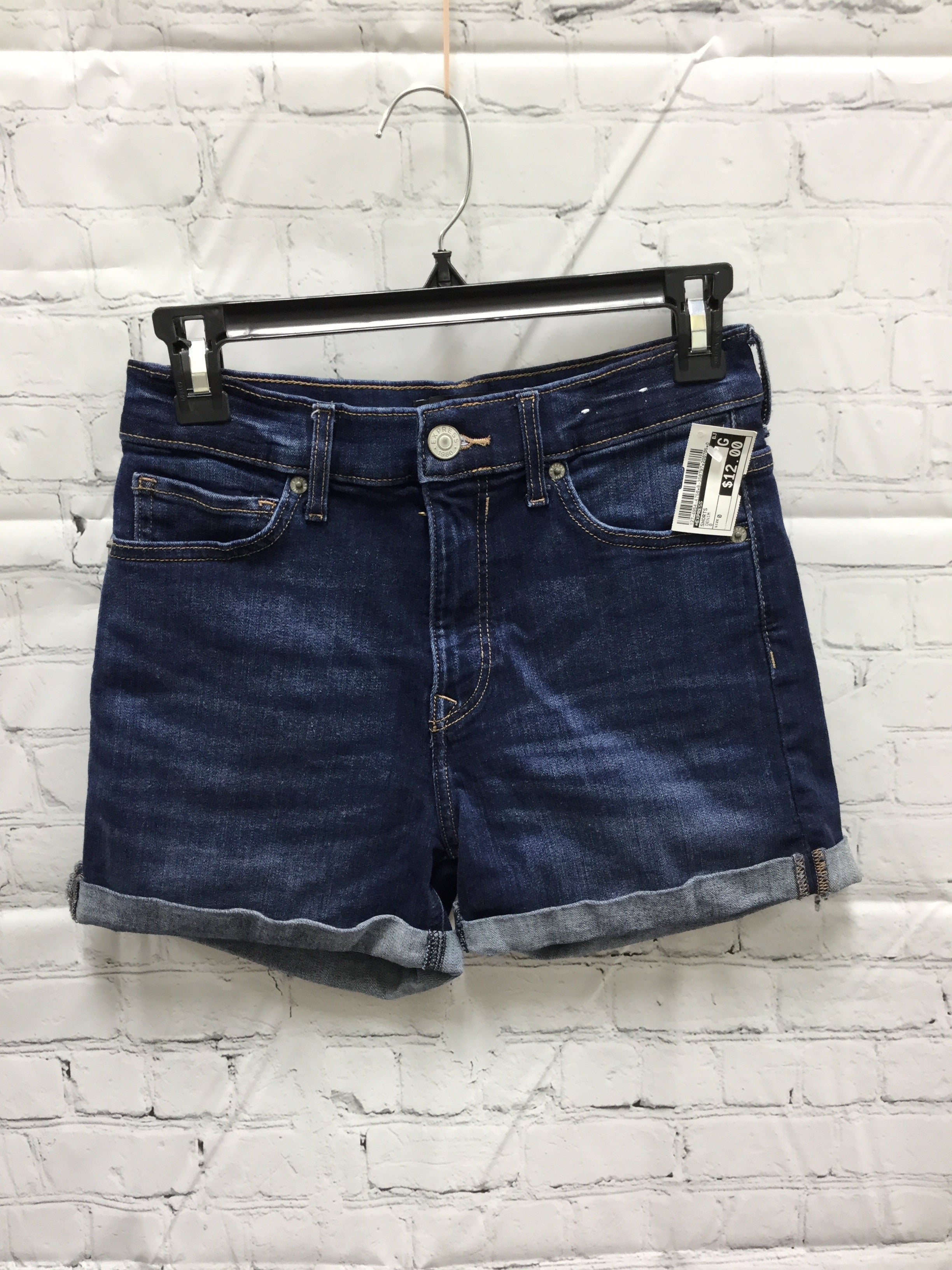 Primary Photo - BRAND: EXPRESS , STYLE: SHORTS , COLOR: DENIM , SIZE: 0 , SKU: 127-4954-4758