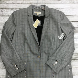 Primary Photo - BRAND: MICHAEL BY MICHAEL KORS STYLE: BLAZER JACKET COLOR: GREY SIZE: XXL OTHER INFO: NEW! SKU: 127-4942-775