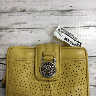 Primary Photo - BRAND: BRIGHTON STYLE: WALLET COLOR: YELLOW SIZE: SMALL SKU: 127-4954-1388