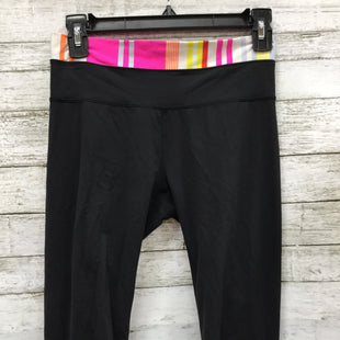 Primary Photo - BRAND: LULULEMON STYLE: ATHLETIC PANTS COLOR: BLACK SIZE: S SKU: 127-4954-612LULULEMON CAPRIS LEGGINGS IN GOOD CONDITION WITH SOME MINOR WEAR.