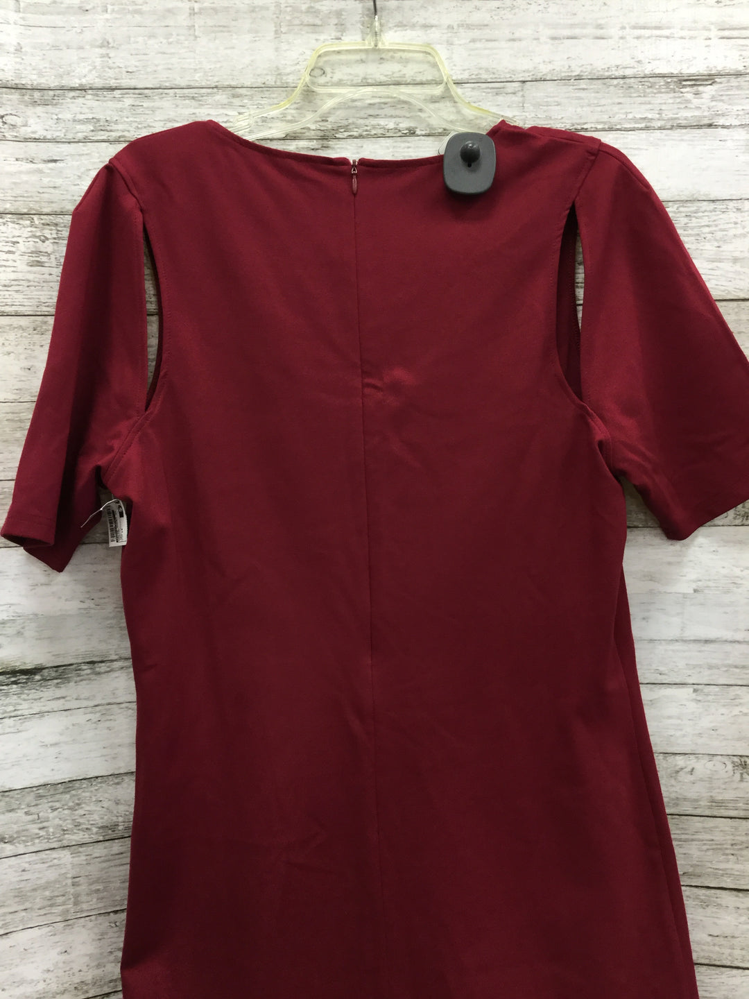 Photo #2 - BRAND: FABLETICS , STYLE: DRESS SHORT SHORT SLEEVE , COLOR: MAROON , SIZE: 1X , OTHER INFO: NEW! , SKU: 127-4559-12428, , NEW WITH TAGS FABLETICS DRESS.