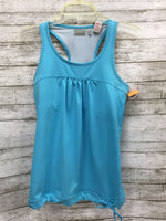 Primary Photo - BRAND: ATHLETA , STYLE: ATHLETIC TANK TOP , COLOR: TURQUOISE , SIZE: S , SKU: 127-4169-22672, , TIE BOTTOM ATHLETA TANK IN GOOD CONDITION. BUILT IN SPORTS BRA.